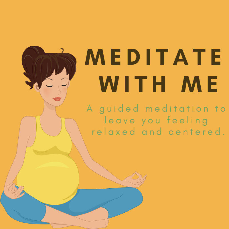 Meditate with me. A guided meditation to leave you feeling relaxed and centered.